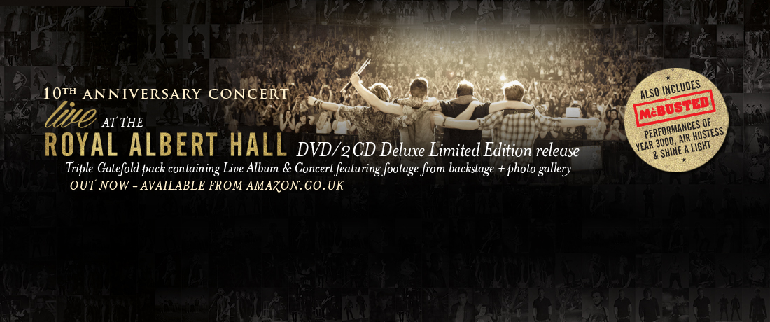 McFly Live at the Royal Albert Hall DVD - Out Now!!